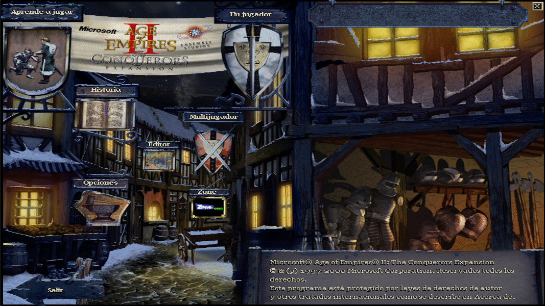 Age of Empires II Expansion full-screen
