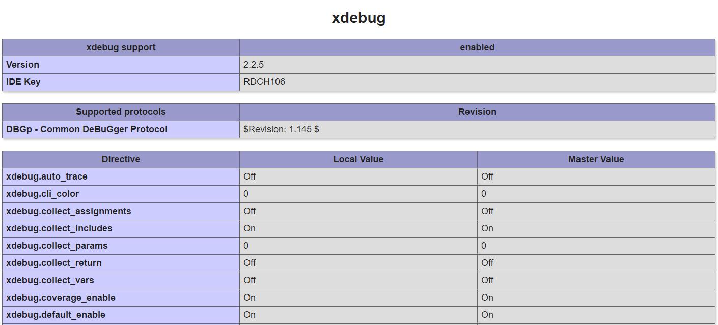 php_xdebug
